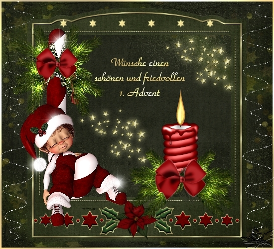 1 Advent Grüße